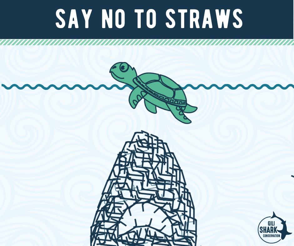 stop sucking - say no to straws