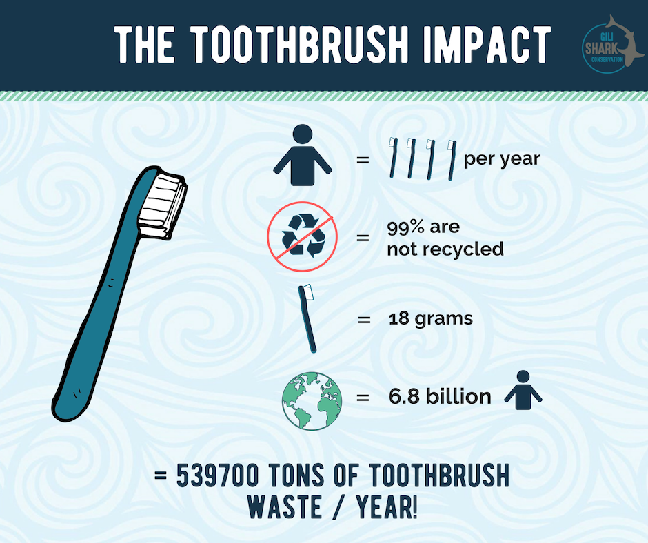 How much impact has your toothbrush on the environment.