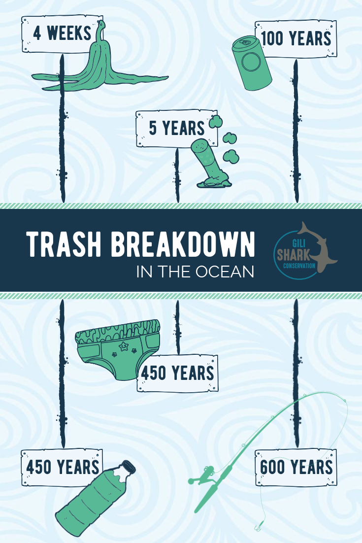 Info graphic Trash Breakdown