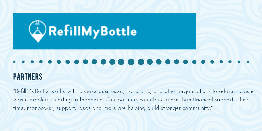 Where to refill your bottle on the Gili Islands