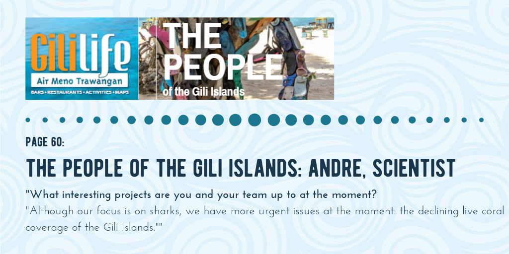 Conservation Work On The Gili Islands in Indonesia