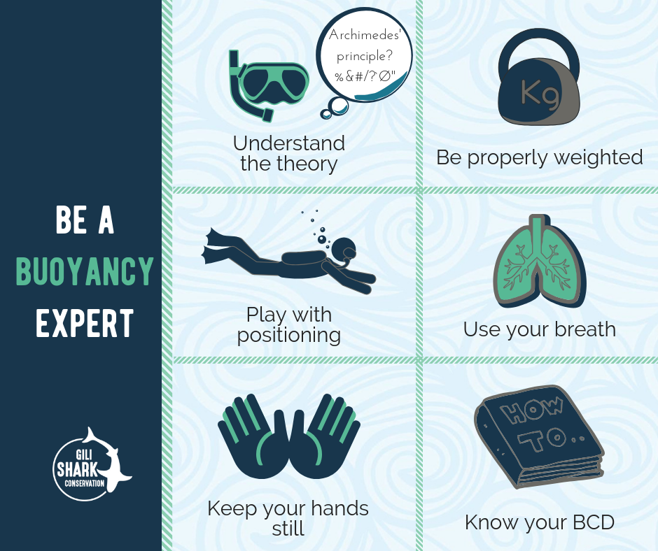 How to be a buoyancy expert