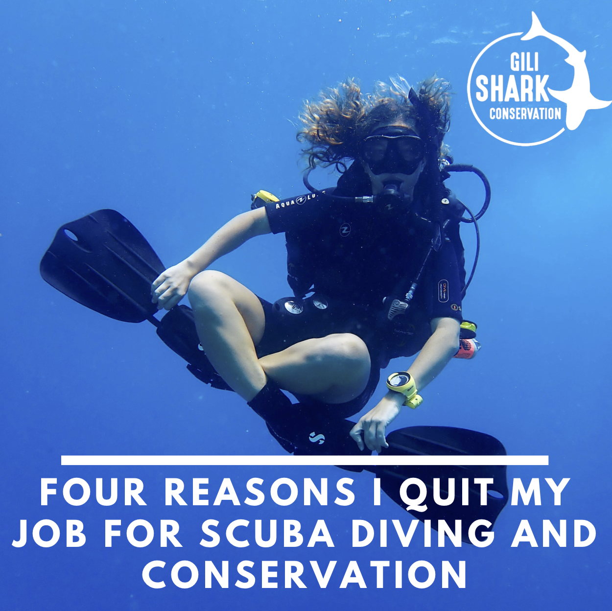 Cover blog: Four Reasons I Quit My Job for Scuba Diving and Conservation