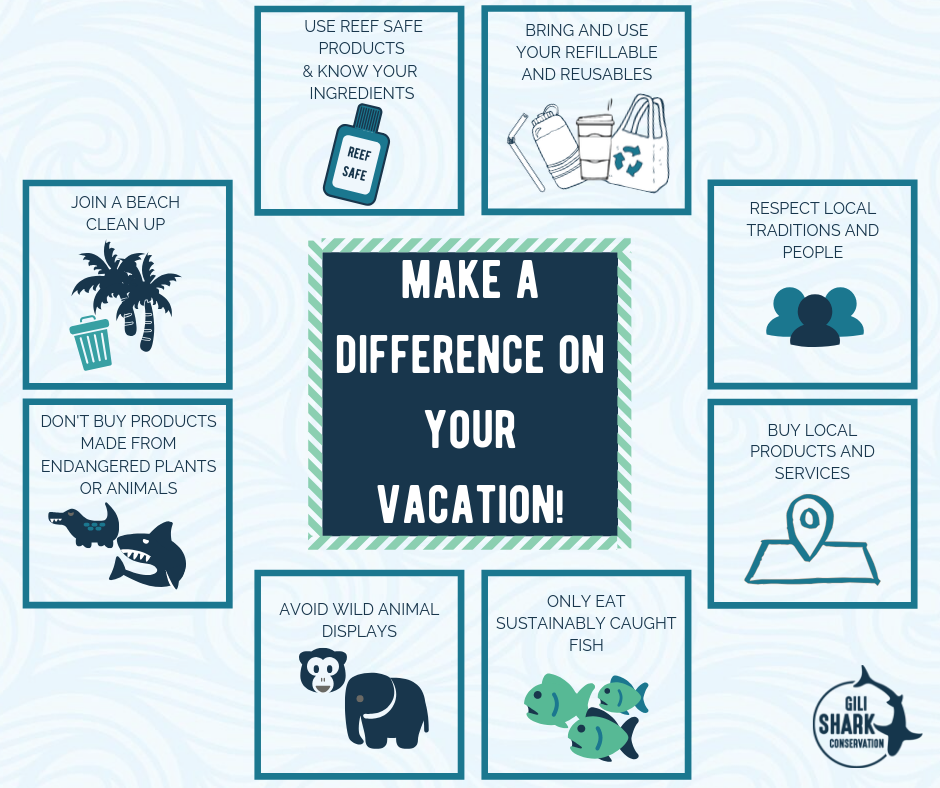 How to make a difference on vacation