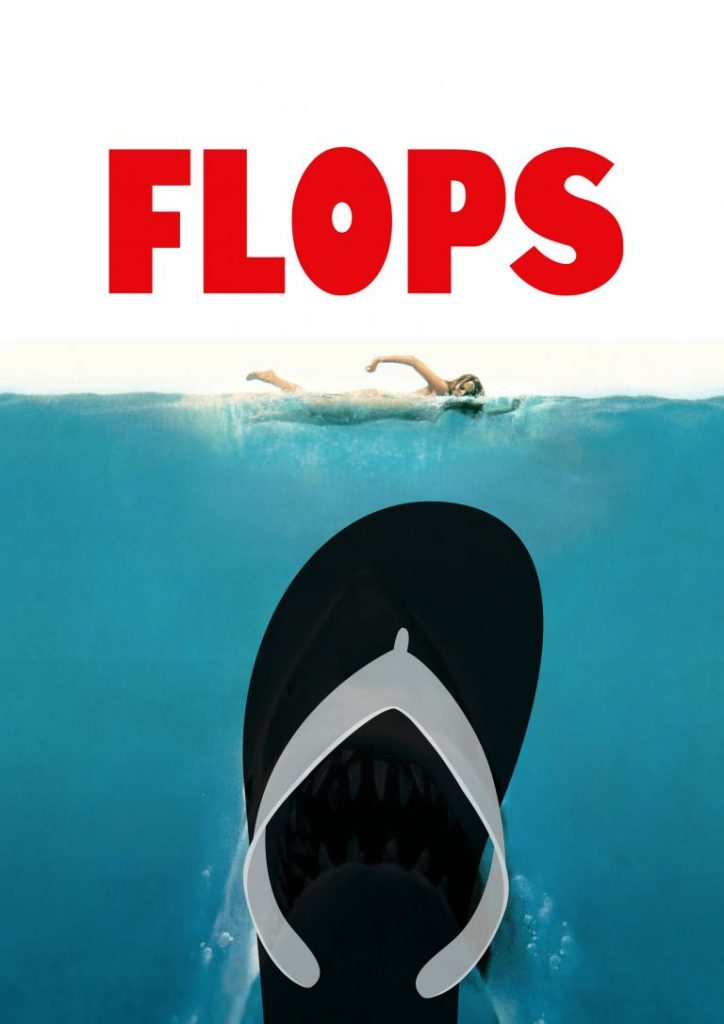 Do you think sharks are dangerous? They're not as likely to harm or kill you than flip flops! You're over 100 times more likely to die from falling out of your bed than a shark bite.
